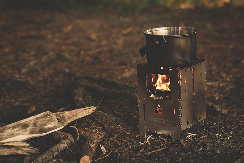 Menú para camping
