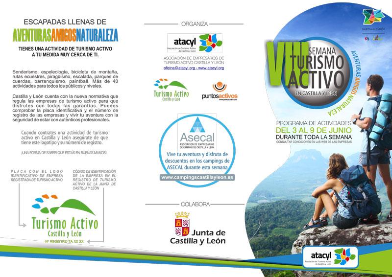 ASECAL colabora con la VIII semana de turismo activo de Castilla y León
