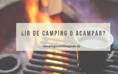 Ventajas del camping frente a la acampada libre
