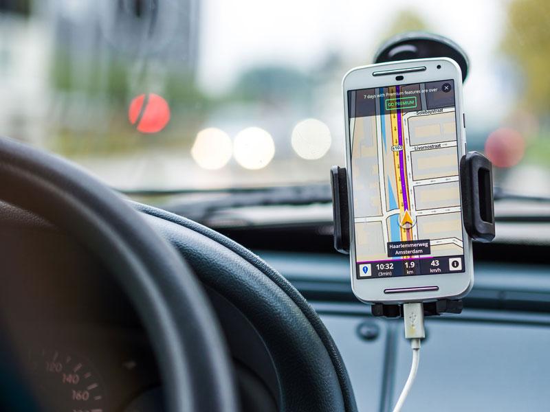 cómo usar el GPS en el camping