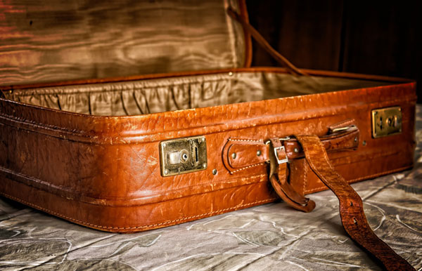 equipaje para ir de camping
