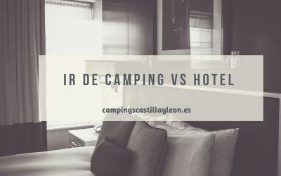 Vacaciones en camping y hotel: ¿Cuáles son las diferencias?