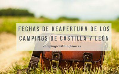 Fechas de apertura de Campins en Castilla y León